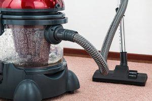 Labores de limpieza aspiradora